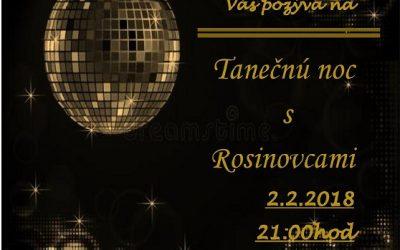 Tanečná noc s Rosinovcami